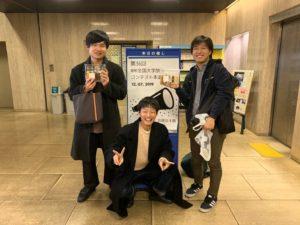 裏LIVE部門優勝の3人組
